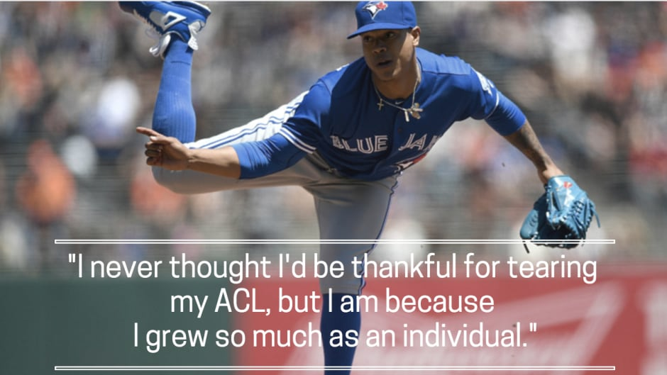 buy popular 0e0c3 657a1 Marcus Stroman returns to Duke to collect diploma | CBC Sports