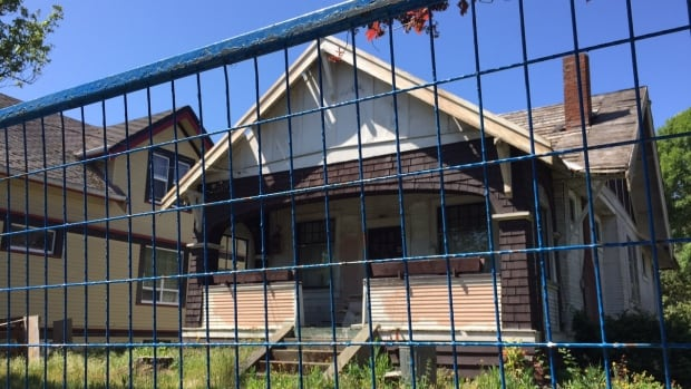 Chris Grieve started a petition to save Victoria's character homes after a Craftsman home on his street was left to deteriorate and is now set to be demolished.