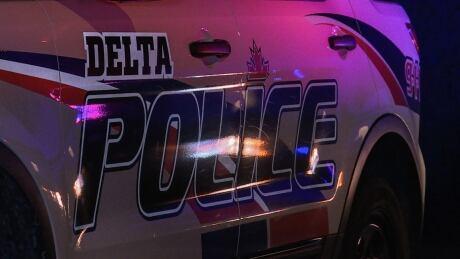 Delta Police Cruiser Car Upclose