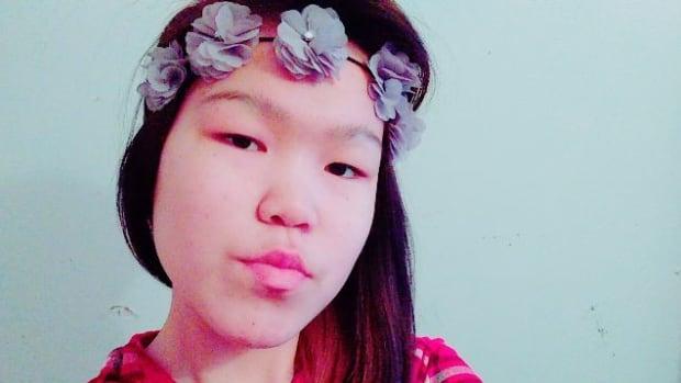 Kimberly Joy Anoee, 15, is a Grade 9 high school student in Arviat, Nunavut.