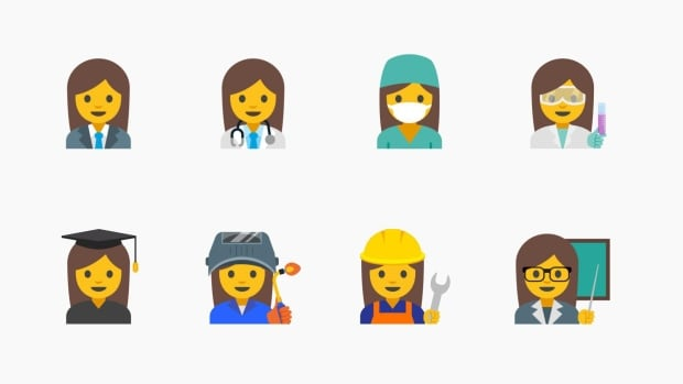 Google submitted a proposal to the Unicode Consortium for 13 new emojis depicting working women.