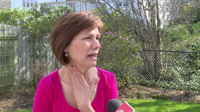 Check For Lumps Cases Of Thyroid Cancer Are On The Rise Cbc News