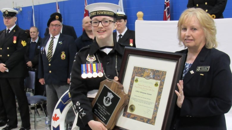 St  John's teen named National Sea Cadet of the Year | CBC News