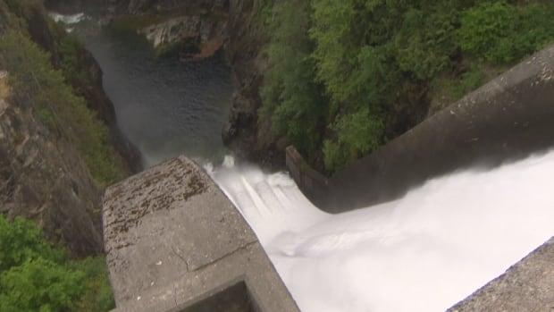 Capilano Reservoir Dam