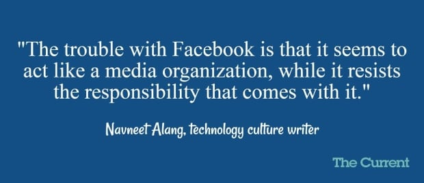 Facebook as News quoteboard