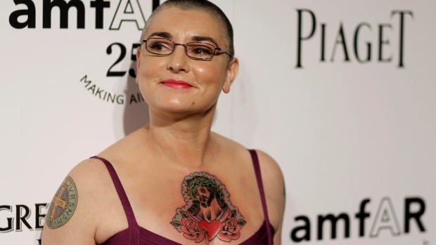 Musician Sinead O'Connor, seen here arriving amfAR's Inspiration Gala, in support of AIDS research, in Los Angeles, Thursday, Oct. 27, 2011.