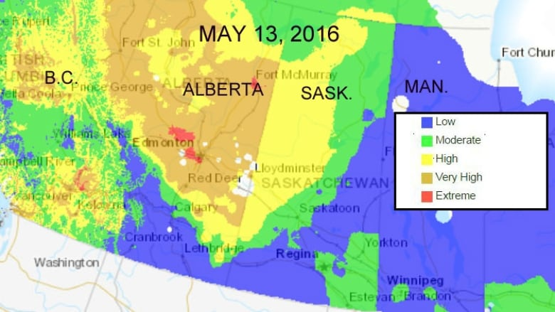 Wildfire Danger On The Rise Again In Saskatchewan Cbc News