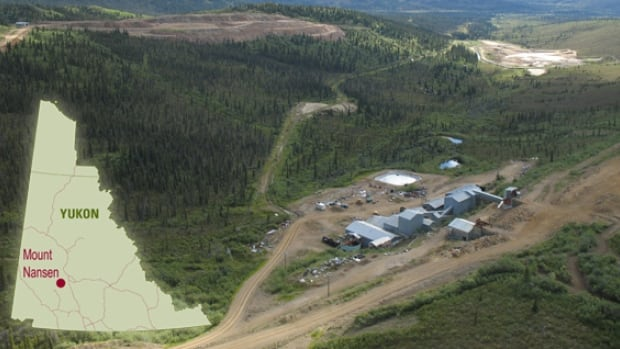 The Mount Nansen mine is a former gold and silver mine, 60 km west of Carmacks, Yukon. In 1999, owner BYG Natural Resources Inc. closed the mine.