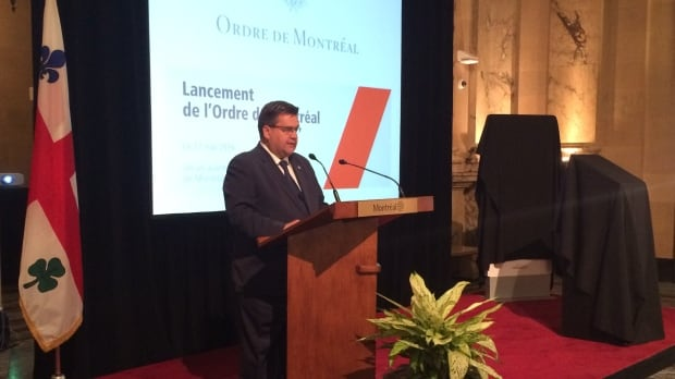 coderre order of montreal