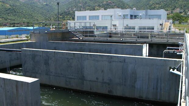Water treatment plant in Taksebt, Algeria