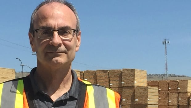 Ed Kulcsar, woodland manager for Spray Lake Sawmills, said things are going well for the company, and the forestry industry.