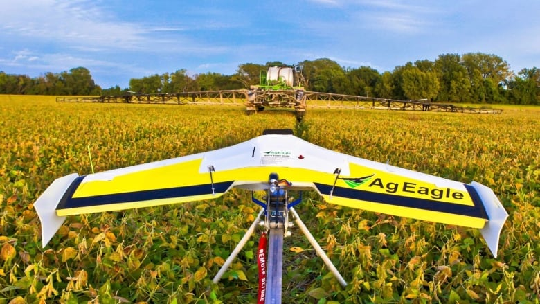 Drones 'revolutionizing' Manitoba farming with help from