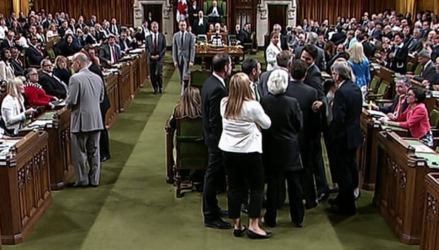 Justin Trudeau House altercation 1 May 18