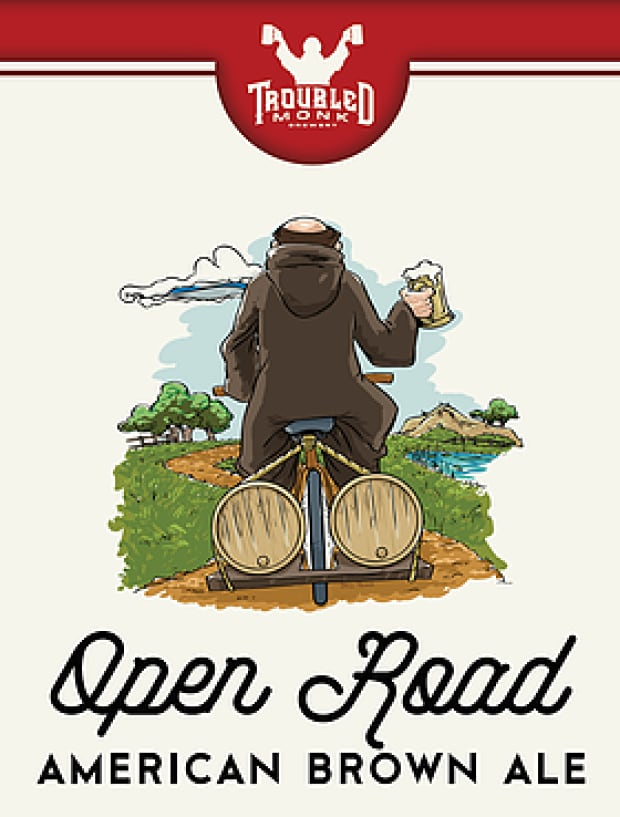 Open Road - Troubled Monk