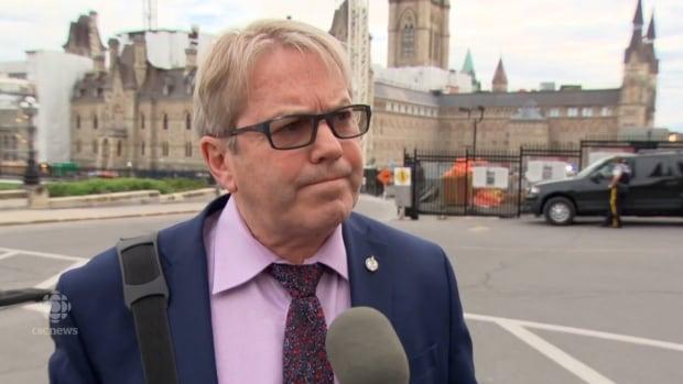 Cape Breton MP Rodger Cuzner speaks in Ottawa on Wednesday.