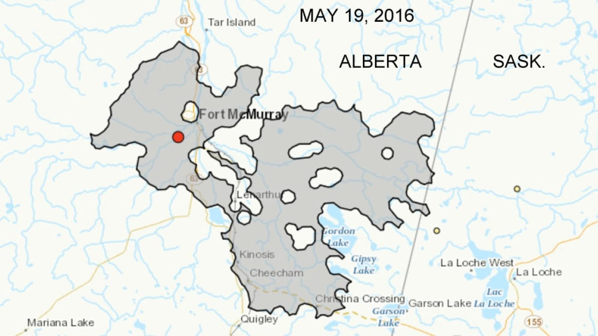 Fort McMurray Wildfire Expands Into Saskatchewan Saskatchewan - Map of southern saskatchewan canada