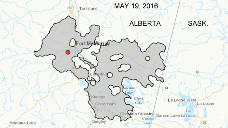 Fort Mcmurray Wildfire Expands Into Saskatchewan Cbc News