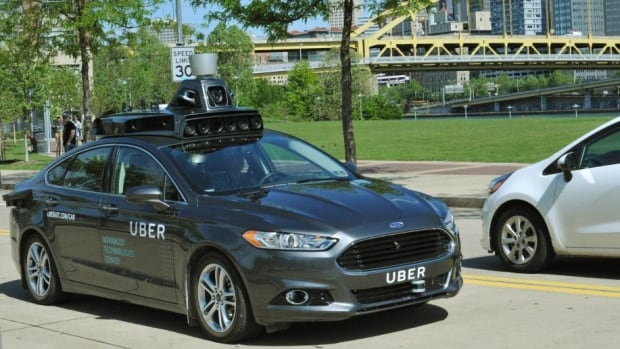 Uber self-driving driverless autonomous