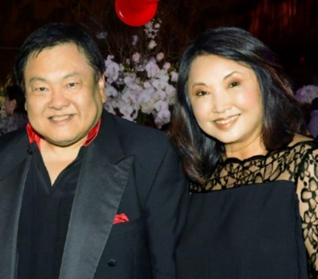 David Ho and wife Winnie Schweitzer