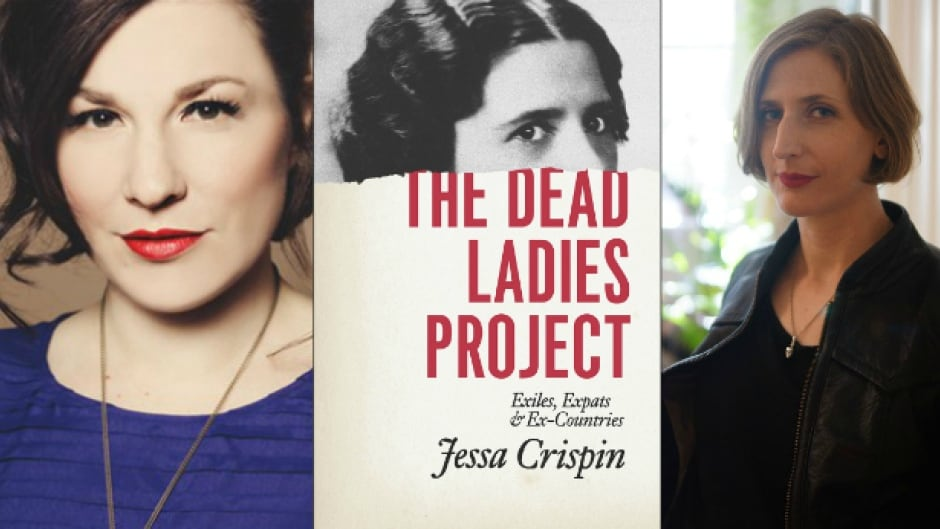 Musician Christa Couture (left) says she felt a deep sense of companionship after reading Jessa Crispin's travel memoir The Dead Ladies Project.