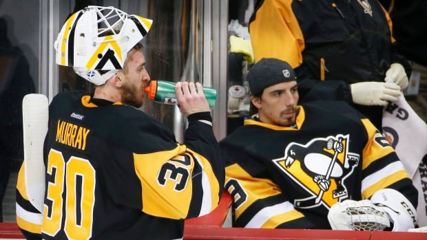 Image result for Matt Murray Marc Andre Fleury