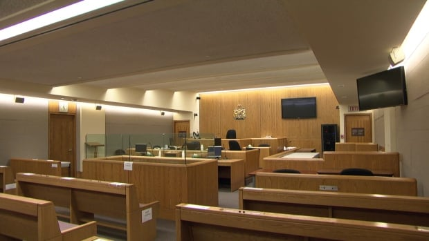 Ottawa courtroom empty