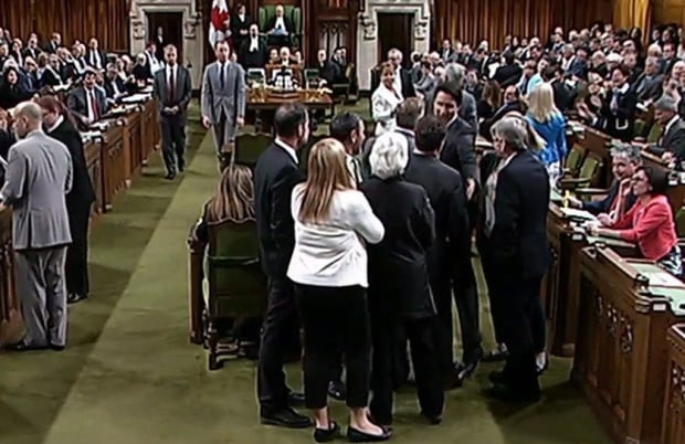 Commons Scuffle