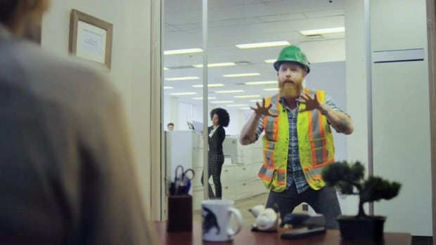 A new video campaign by the Ontario Road Builders' Association illustrates how drivers put construction workers in danger when ignoring rules of the road. The campaign depicts construction workers performing those similar behaviours in an office setting.