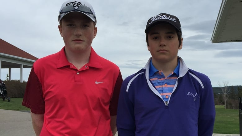 Michael Simms (left) and Nash Denic hope to compete in the Junior Boys Gold  Championship in St. John s this summer. (Submitted photo) 826553667b88