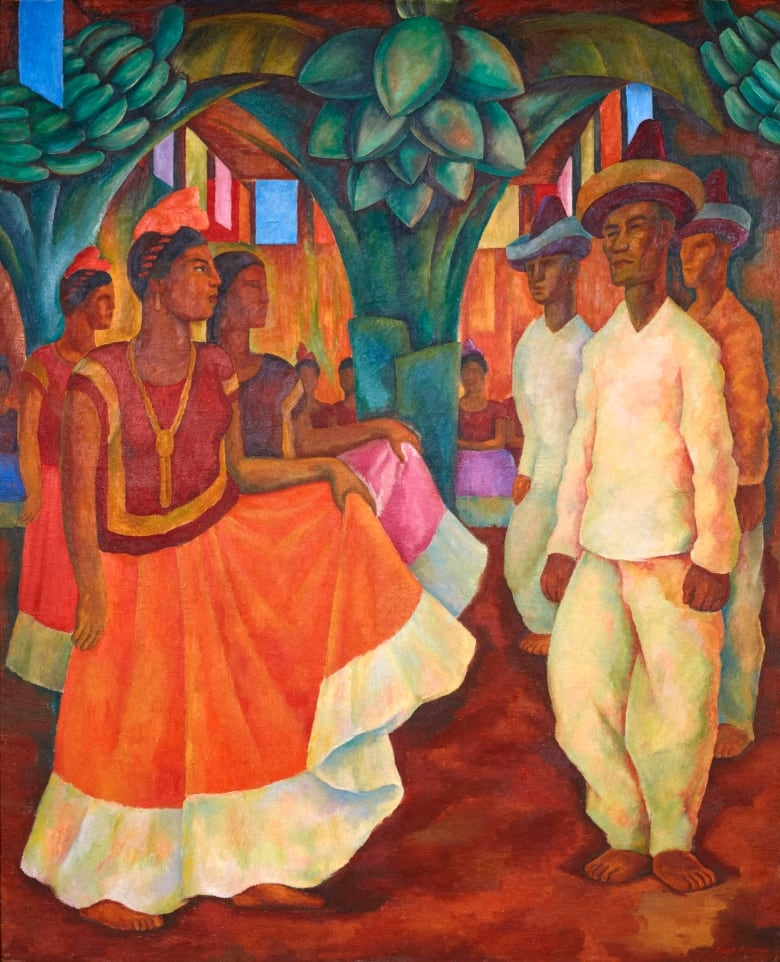 Diego Rivera Painting Fetches 157 Million Record Price Cbc News
