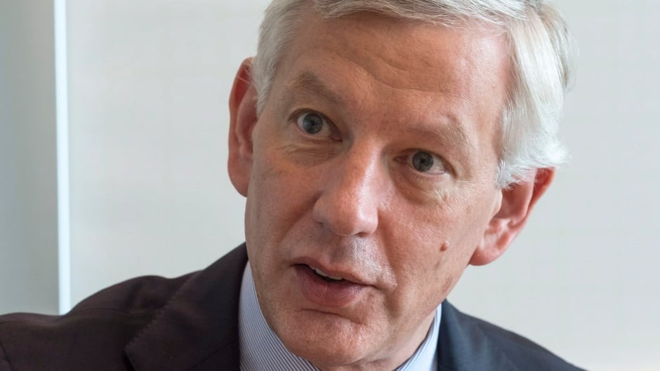 Dominic Barton, chair of an advisory committee to federal Finance Minister Bill Morneau.