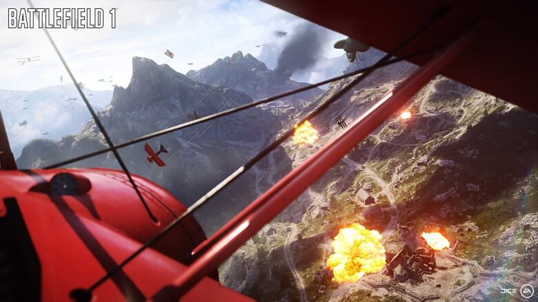 Battlefield 1 tackles First World War, a rare setting in