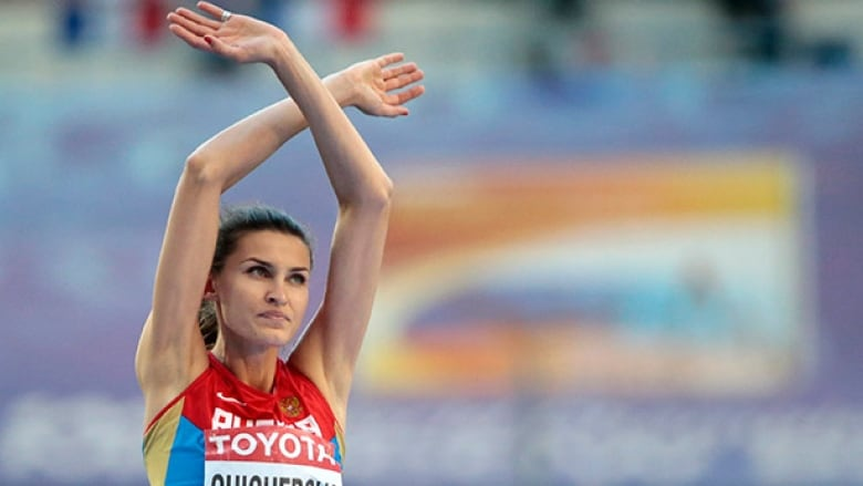 Olympic high jump champ among 31 athletes caught by 2008