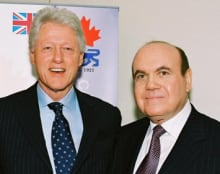 Victor Dahdaleh with Bill Clinton