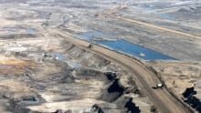 Alberta Oilsands aerial view