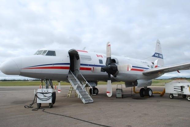 NRC aircraft