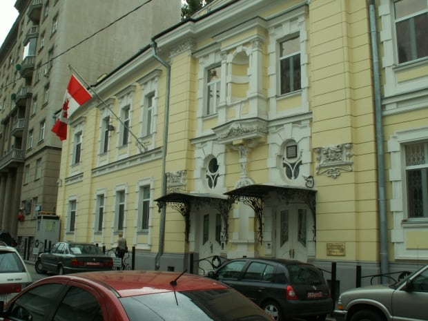 Canadian embassy, Moscow