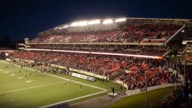 TD Place Stadium is completely sold out for the Grey Cup game on Nov. 26.