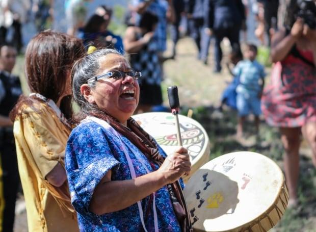 Ursula Drynock, chief of the Nicomen Indian Band