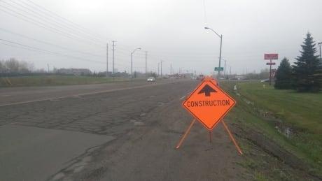 Balmoral Street road work