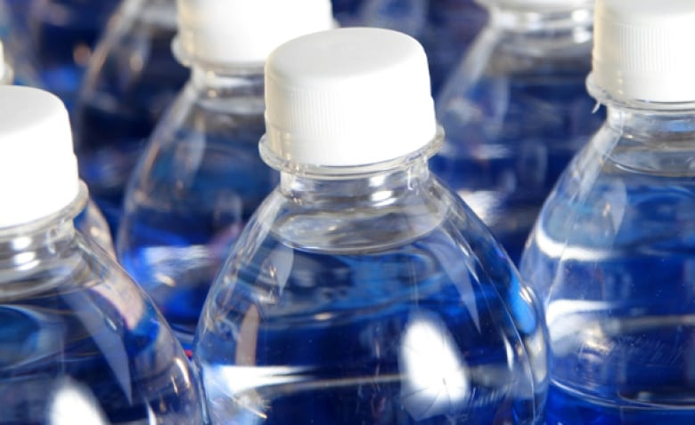 ae6c732c98 The clear container is part of the marketing for bottled water, says water  journalist Charles Fishman. (CBC)