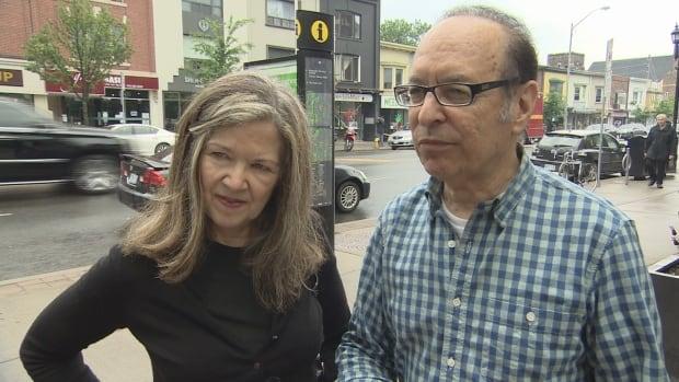 Barbara Allen and Richard Arfin