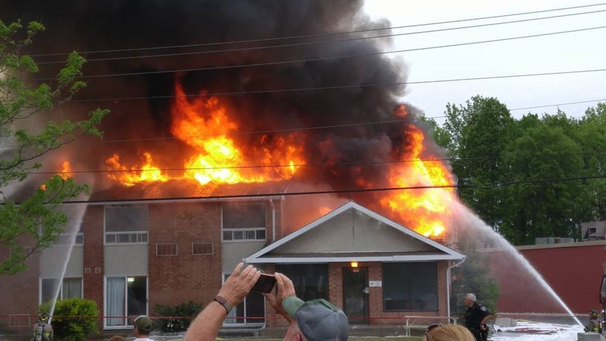 Young Players Escape Fire At Ontario Hockey Academy In