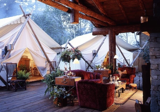 Clayoquot Wilderness Resort Glamping