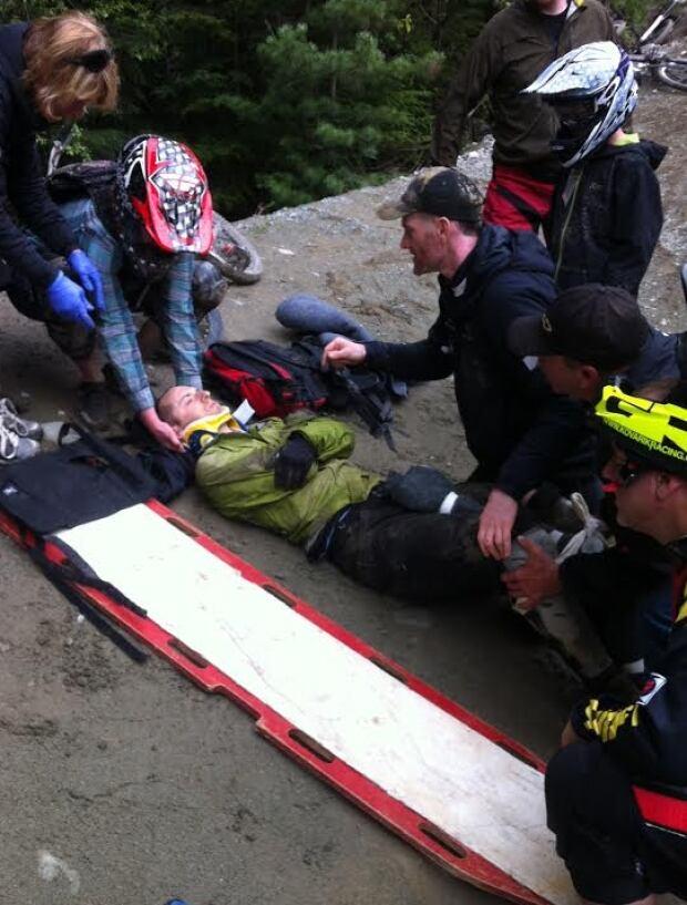 Rafferty Baker 2014 Whistler Crash