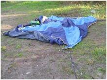Madison Scott's tent