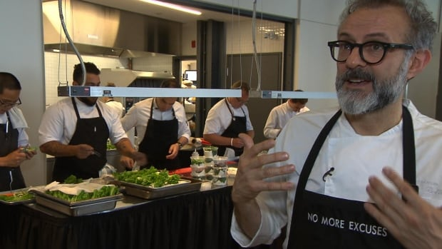 Famed chef Massimo Bottura, whose Italian restaurant Osteria Francescana has been named the top in the world. Canadian establishments have rarely cracked the prestigious World's 50 Best Restaurants list.