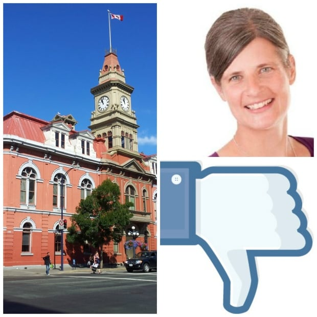 Lisa Helps mayor of Victoria collage about facebook