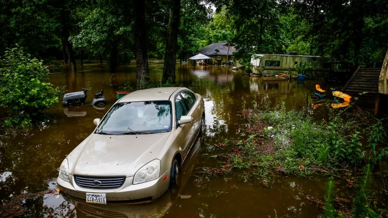 Flooding in Texas, Kansas claims at least 6 lives | CBC News