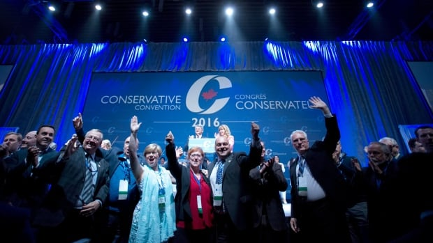 2016 conservative convention how should we describe tories now politics cbc news. Black Bedroom Furniture Sets. Home Design Ideas